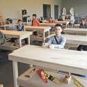 School in Balsiai / Sigitas Kuncevi?ius Architecture Studio © Raimondas Urbakavi?ius