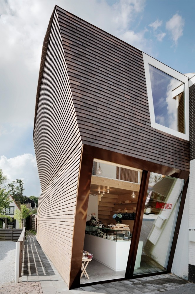New building for Deli Shop / BaksvanWengerden Architecten