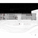 Fernando Botero Park Library / G Ateliers Architecture First Floor Plan 01