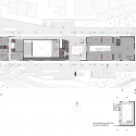 Fernando Botero Park Library / G Ateliers Architecture Second Floor Plan 01