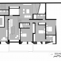 Casa SL / Llosa Cortegana Arquitectos Second Floor Plan 01