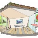 Garden estudio en Amsterdam Watergraafsmeer / CC-Sketch Studio 03