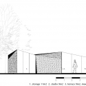 Garden studio in Amsterdam Watergraafsmeer / CC-Studio Elevation 01