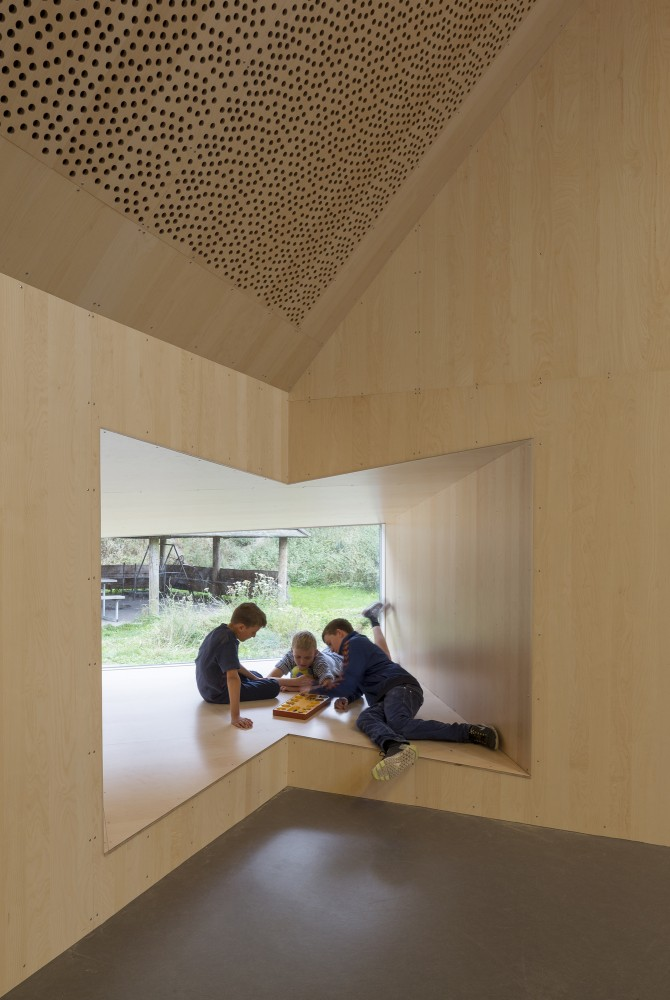 Youth Centre in Roskilde / Cornelius + Vge