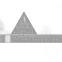 Ingelheim Funeral Chapel / Bayer & Strobel Architekten North Elevation 01