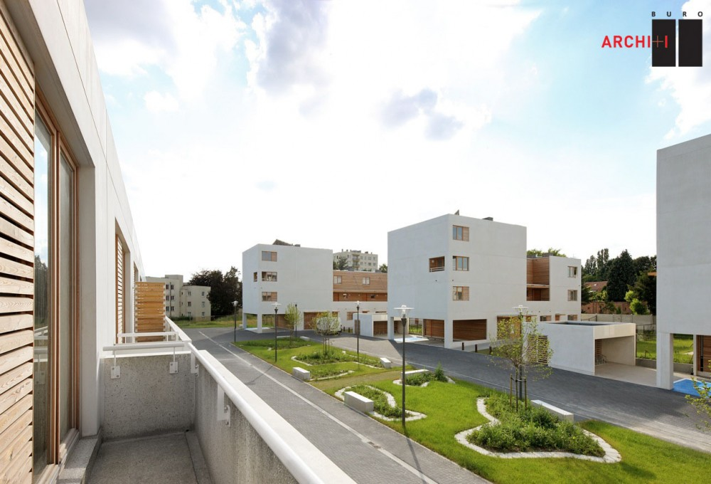 St-Agatha-Berchem Sustainable Social Housing / Buro II &#038; Archi+I