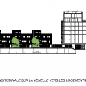 48 LOGEMENTS - Vitry sur Seine / Gatan Le Penhuel Architecture Section 01