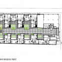 48 LOGEMENTS - Vitry sur Seine / Gatan Le Penhuel Architecture Plan 02