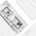 House 0605 / Simpraxis Architects First Floor Plan 01