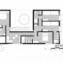 La Isla House / Llosa Cortegana Arquitectos Second Floor Plan 01