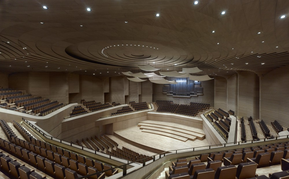 Tianjin Grand Theater / gmp Architekten