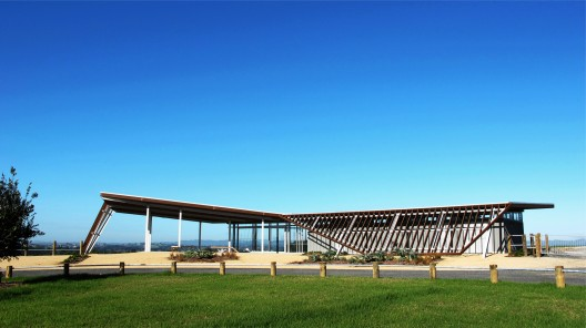 Visitor Centre for Equestrian and Mountain biking / Jasmax  Mark Craven