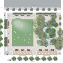 Perk Park / Thomas Balsley Asociates with Jim McKnight Plan 01