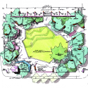 Perk Park / Thomas Balsley Asociates with Jim McKnight Sketch 01