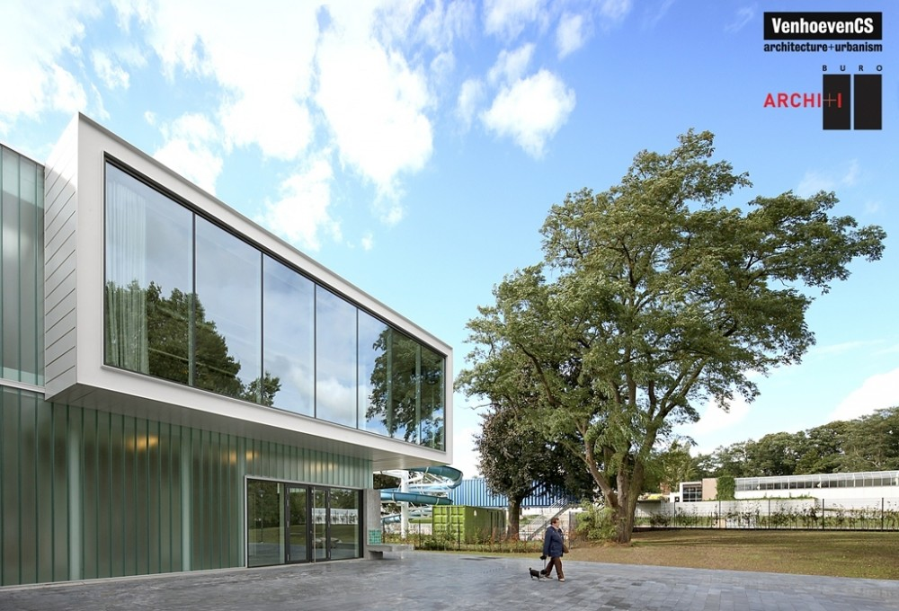 Sport Facilities De Warande in Wetteren / Venhoeven CS in collaboration with BURO II & ARCHI+I
