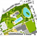 Sport facilities De Warande in Wetteren / BURO II &amp; ARCHI+I Plan 03