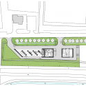 Sustainable Gas Station Avia Marees / Knevel Architecten Ground Floor Plan
