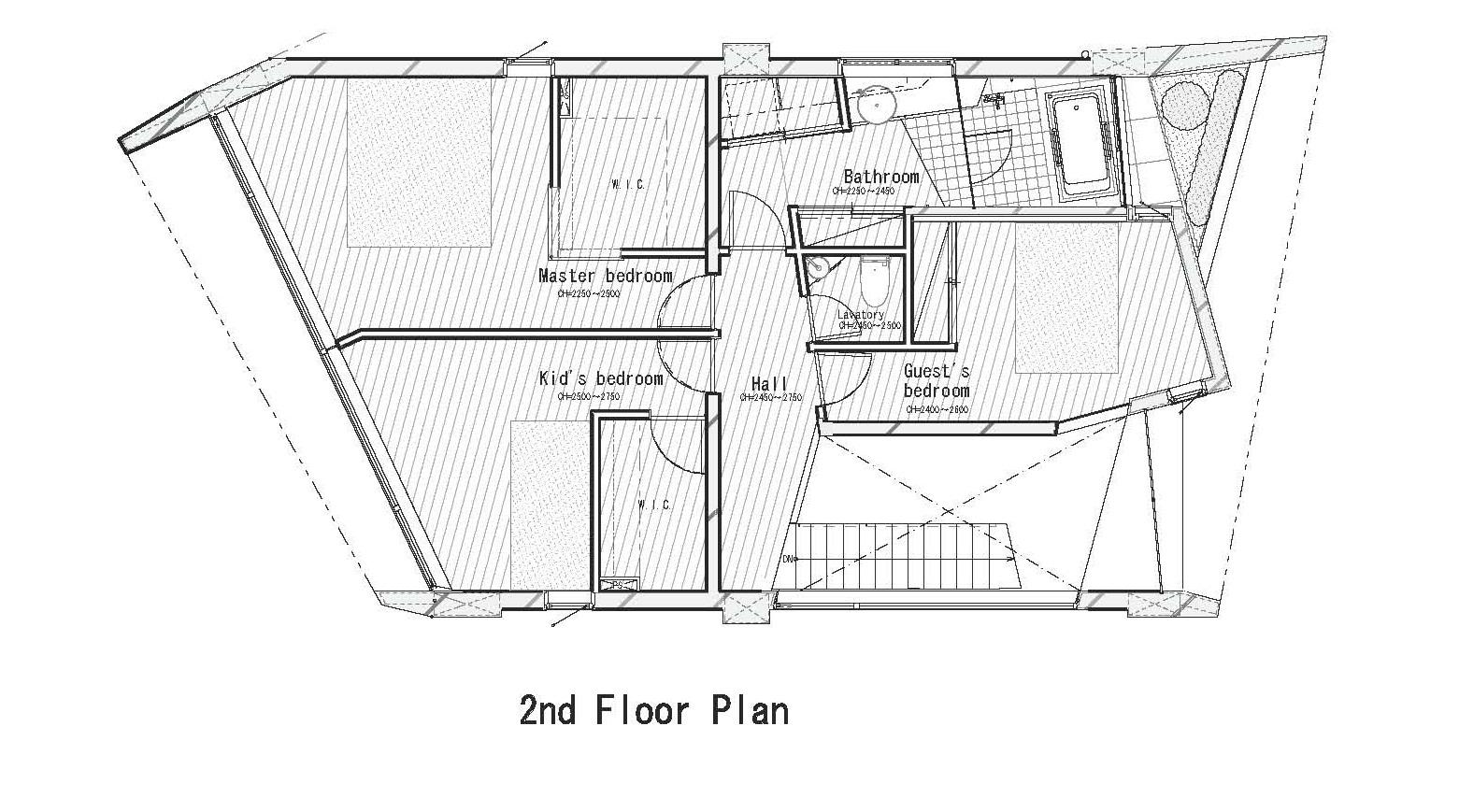 الطابق الثاني