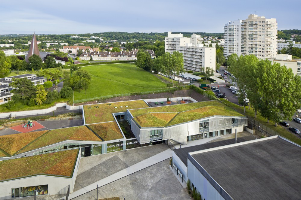 Groupe Scolaire Normandie-Niemen / Gaetan Le Penhuel Architectes