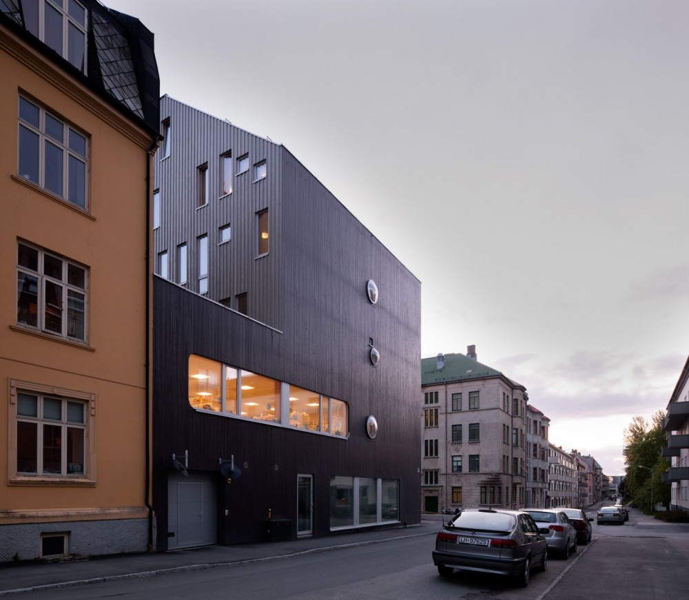 Trondheim Student Housing  / MEK Architects