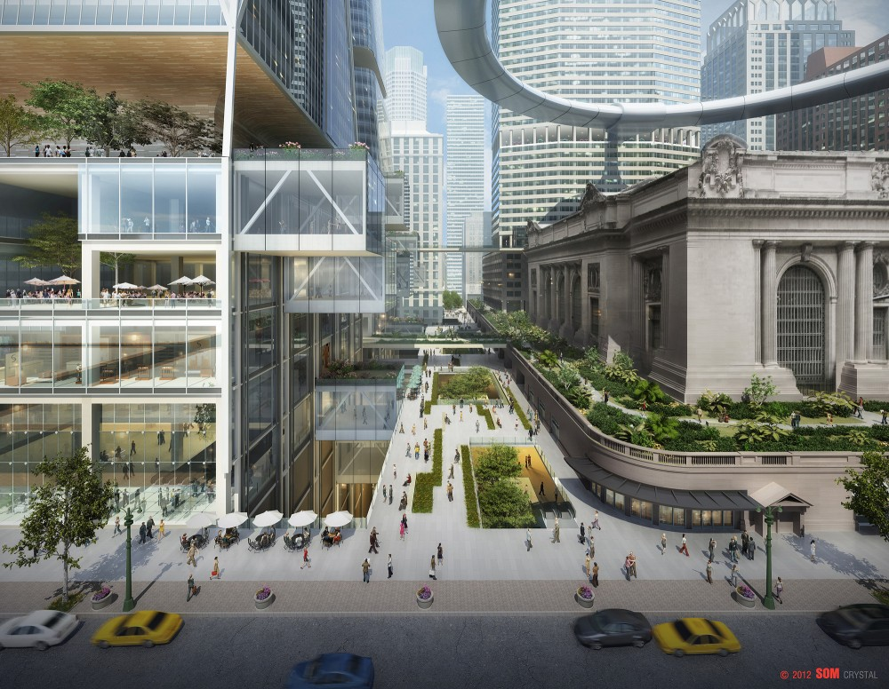 SOM&#8217;s vision for New York&#8217;s Iconic Grand Central Station