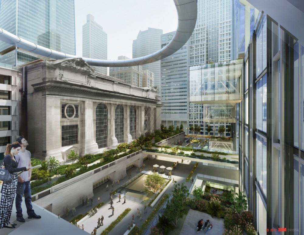 SOM's vision for New York's Iconic Grand Central Station