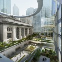 SOM's vision for New York's Iconic Grand Central Station Courtesy of 2012 SoM/Crystal