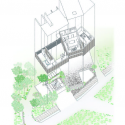 Rustic House / UID Architects Axonometric