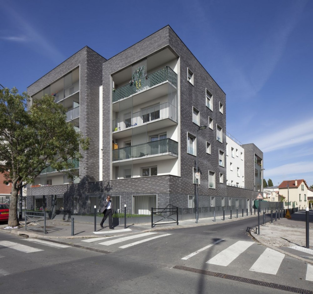 Saint Denis Housing / Ateliers O-S architectes