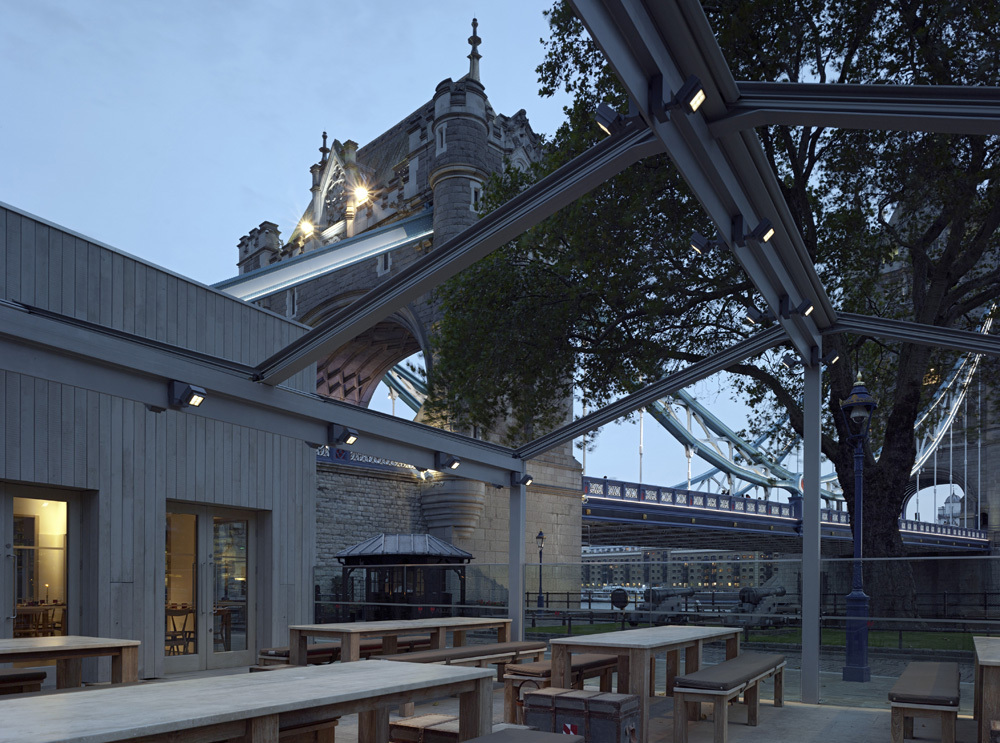 Tower Wharf Cafe / Tony Fretton Architects