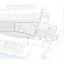 Tower Wharf Cafe / Tony Fretton Architects Ground Plan
