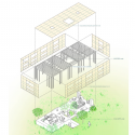 Nest / UID Architects Axonometric