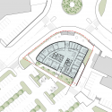 Administrative Center Jesenice / Studio Kalamar Site Plan
