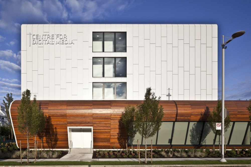 Centre for Digital Media / Musson Cattell Mackey Partnership Architects