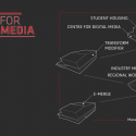 Centre for Digital Media / Musson Cattell Mackey Partnership Architects Diagram