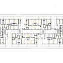 27 VPO / Equipo Olivares Arquitectos Ground Floor Plan