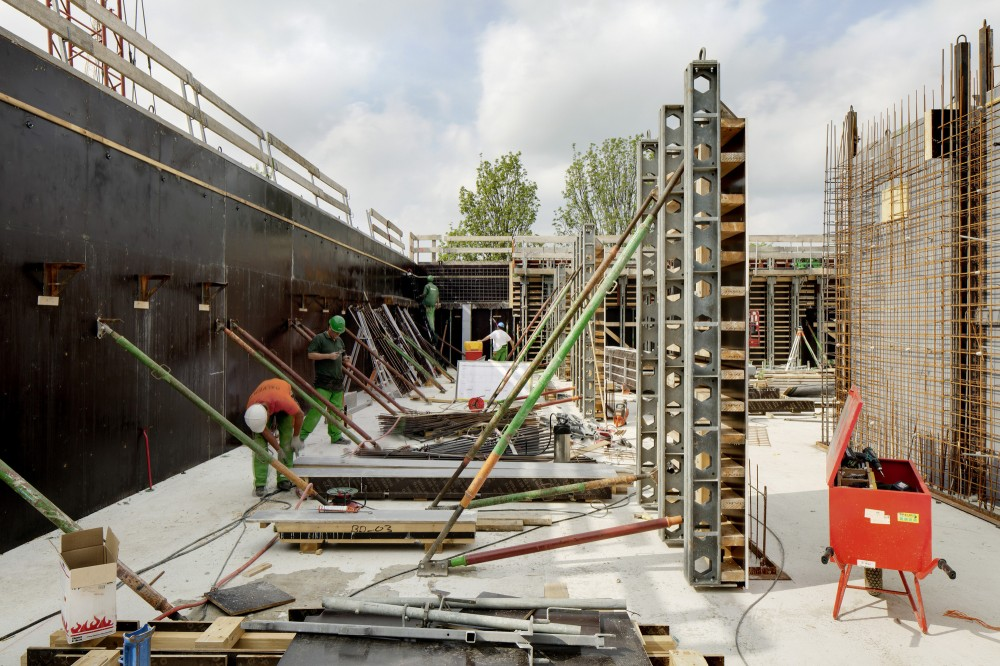 In Progress: Campus Hoogvliet in Rotterdam / Wiel Arets Architects