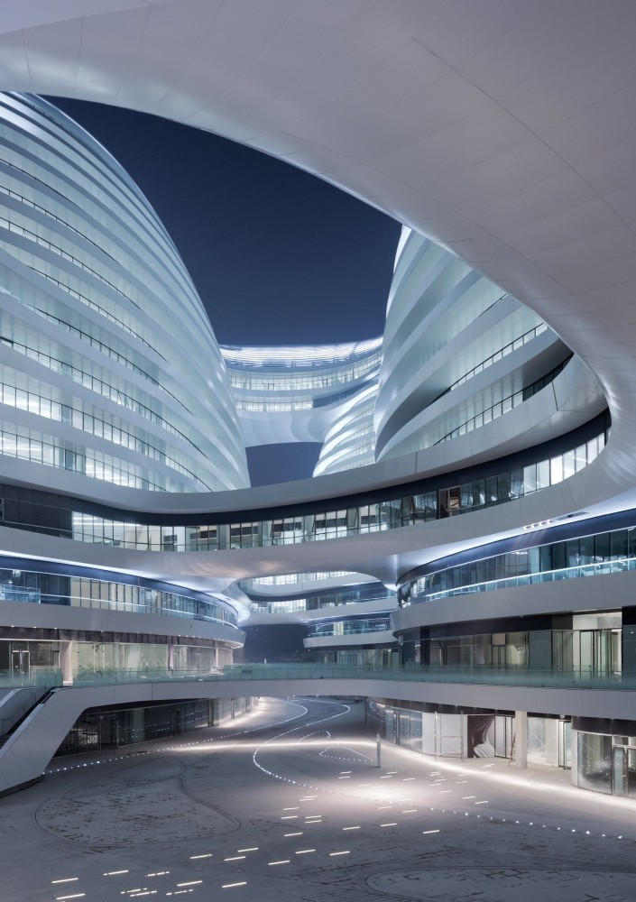 Architecture Photography Galaxy Soho Zaha Hadid