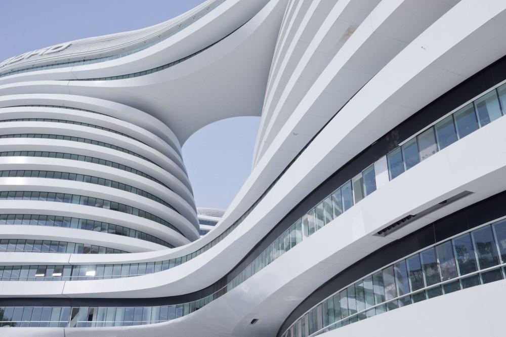 Architecture Photography Galaxy Soho Zaha Hadid