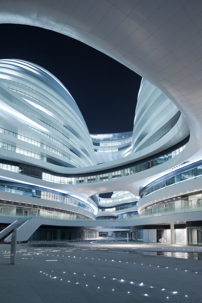 Architecture photography galaxy soho zaha hadid for Arquitectura zaha hadid