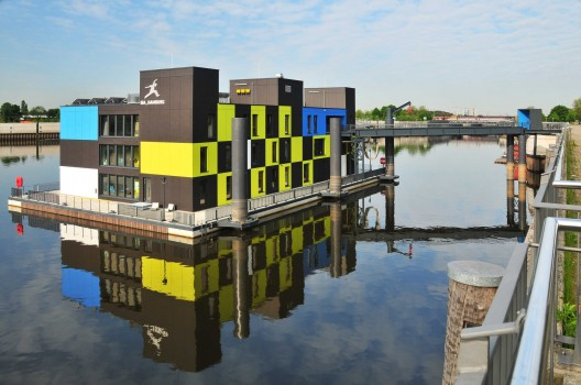 Iba Dock / Architech - Architecture and Technology © Rüdiger Mosler