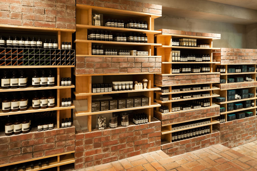 Aesop Ginza / Schemata Architects
