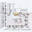 Hue Plus / Schemata Architects Sketch