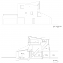 Okusawa House / Hiroyuki Ito + O.F.D.A. Elevation &amp; Section