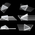 Forth Valley College / Reiach and Hall Architects Triangle Rooflight Diagrams