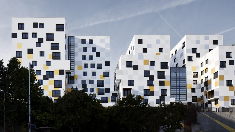 Apartment Blocks in Nanterre / X-TU
