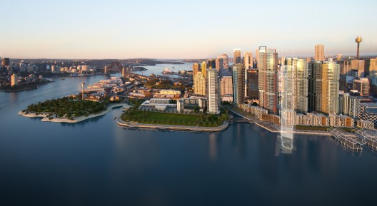 Barangaroo Sydney Artist Impression  Barangaroo Delivery Authority