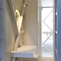 Inside The Keret House - the World&#039;s Skinniest House - by Jakub Szczesny (14)  Polish Modern Art Foundation / Bartek Warzecha
