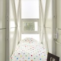 Inside The Keret House - the World&#039;s Skinniest House - by Jakub Szczesny (16)  Polish Modern Art Foundation / Bartek Warzecha