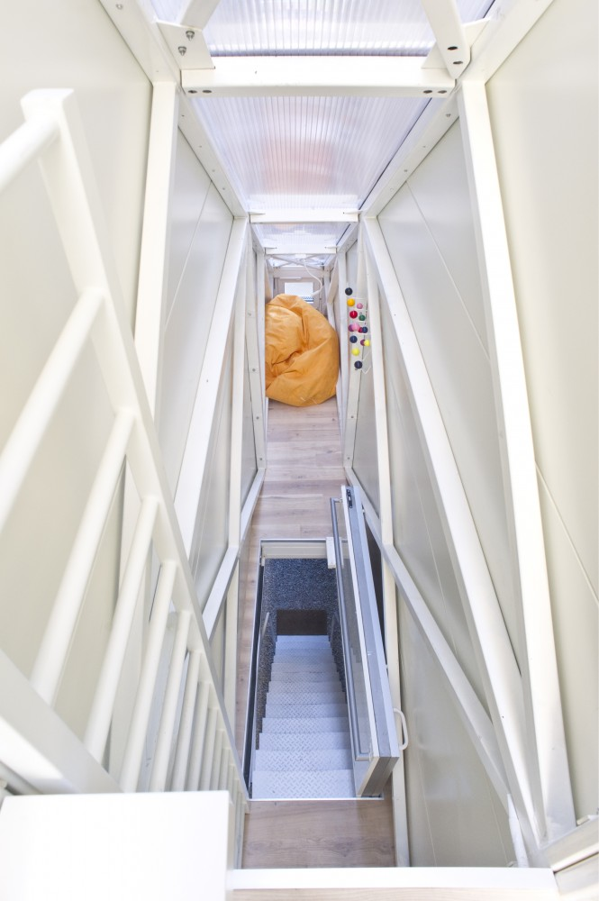 Inside The Keret House – the World's Skinniest House – by Jakub Szczesny